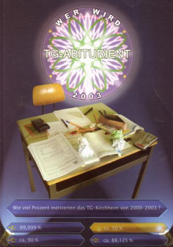 ABI03 - Werd wird TG-Abiturient